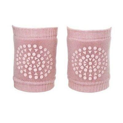 Csúszásgátlós baba térdvédő, könyökvédő. rózsaszín