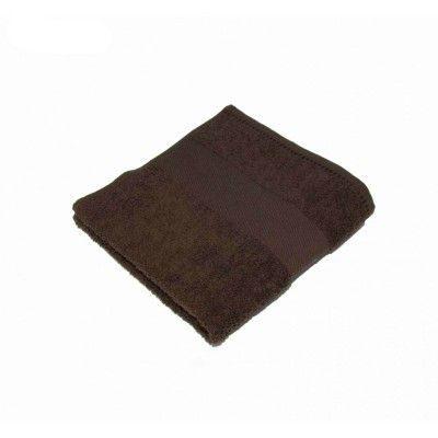 Csokibarna törölköző, kéztörlő
